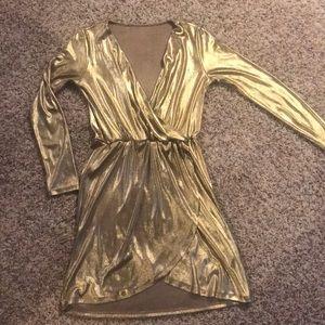 Fun Gold party dress